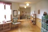 教室へつづく廊下 第二ひまわり幼稚園