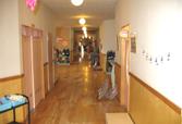 廊下 第二ひまわり幼稚園